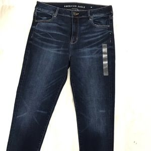 Brand new AE Hi-Rise Jeggings Size 16R.